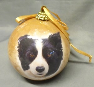 00101 Collie Bauble 300 x 279