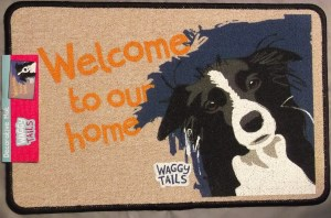 00126 Waggy Tails Doormat 300 x 198