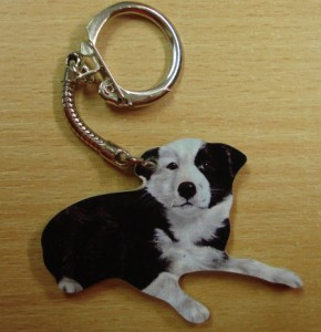 00262 Collie Pup Key Ring Original 290 x 300
