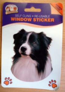 00398 Collie head sticker 213 x 300