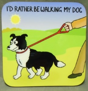 00400 I d Rather Be Walking My Dog Coaster 289 x 300