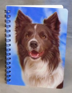 00539 R W 3D Collie Note Book 232 x 300 2