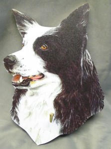 00613 Border Collie Lead Hanger 223 x 300