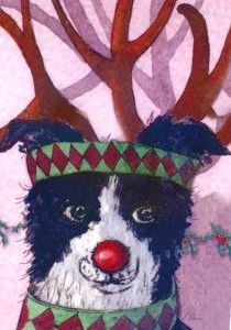 00936 Red Nosed Reindog 210 x 300