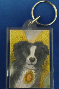 00961 Keyring The New Year Dog Fairy