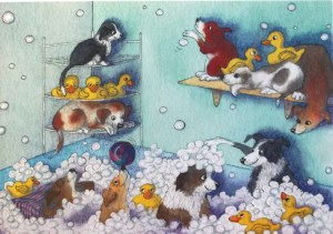 00972 Bubble Bath Puppies 300 x 211
