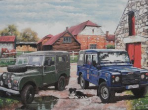 12040 Landrovers Card 300 x 224