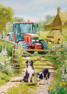 12052 On The Farm Blank Card 214 x 300