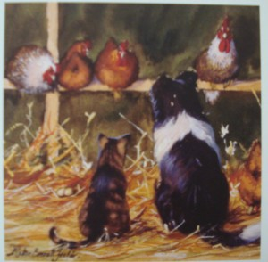 12570 Chicken Run square card Original 300 x 294