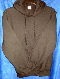 Hooded Sweatshirt single colour 230 x 300
