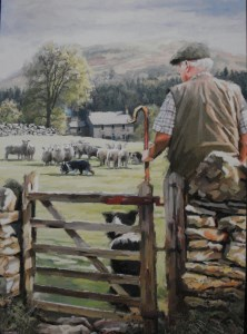12037 Rounding Sheep card 222 x 300