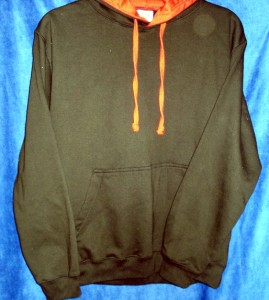 Hooded Sweatshirt two colour 269 x 300